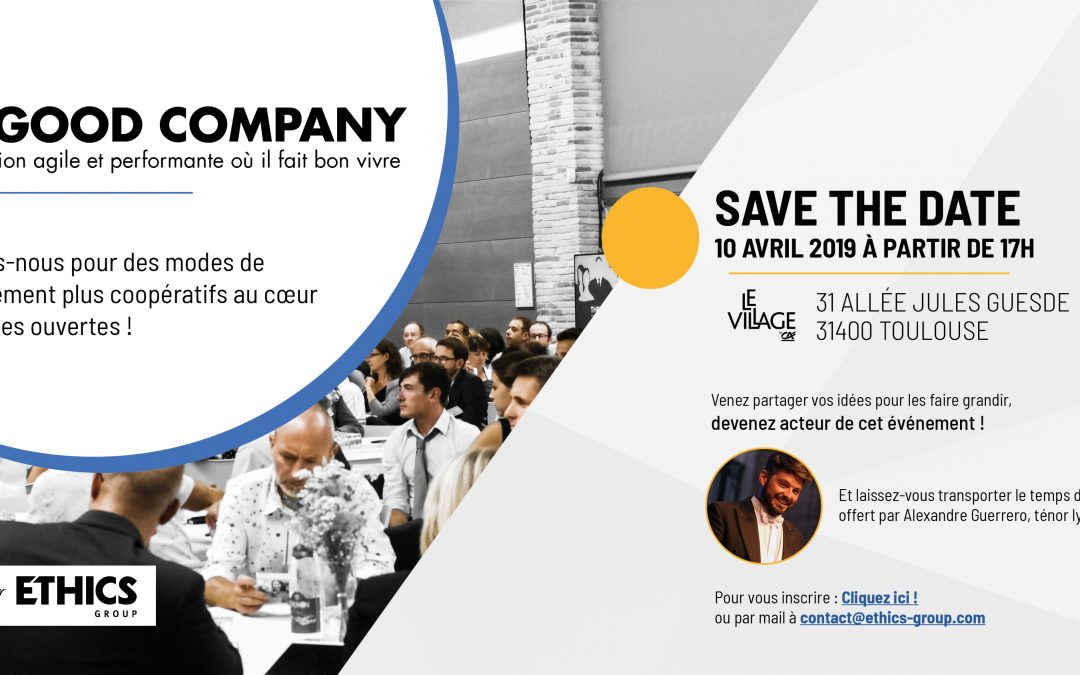 En route pour The Good Company – Save the date