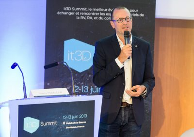 Intervention lors de l'IT3D Summit du 12 juin 2019 à Bordeaux