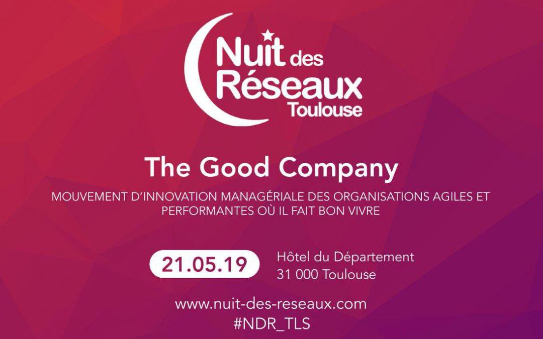 21/05/2019 – Nuit des réseaux The Good Company à la Mêlée