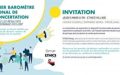 05/03/2020 – Premier baromètre national de la concertation – Save the date