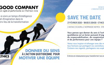 27/02/2020 – Donner du sens à l'action quotidienne pour motiver une équipe – Save the date