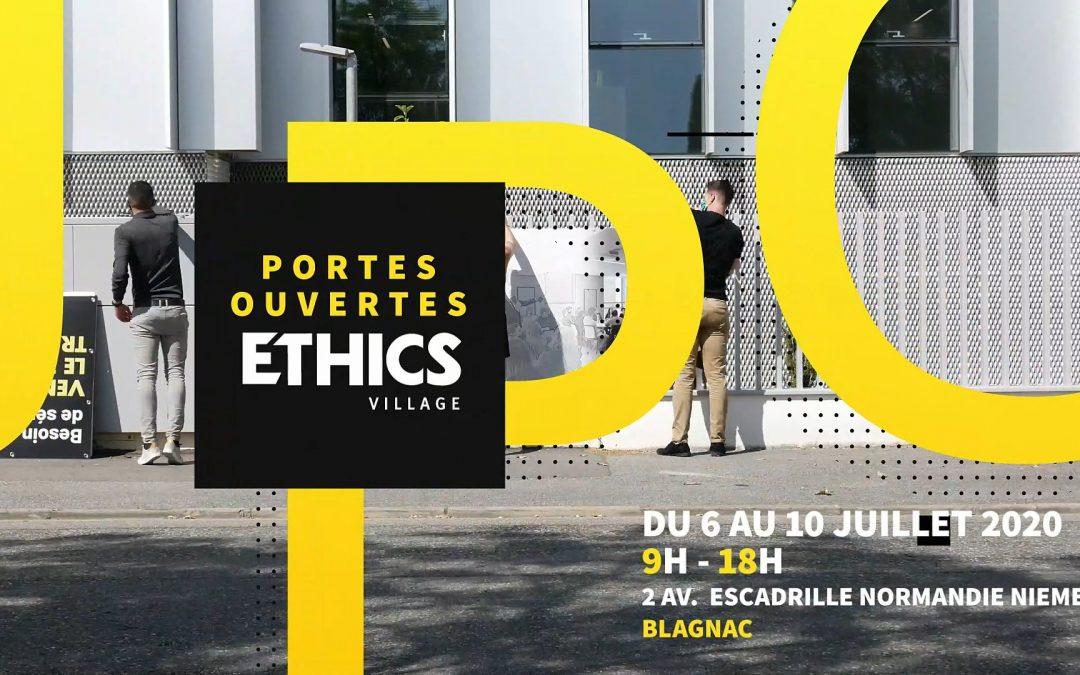 Du 6 au 10 juillet – Semaine de portes ouvertes à l'Ethics Village pour découvrir les nouveaux usages du travail