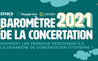 Baromètre 2021 de la concertation