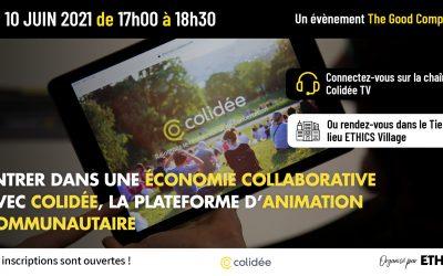 Entrer dans une économie collaborative avec Colidée, la plateforme d'animation communautaire